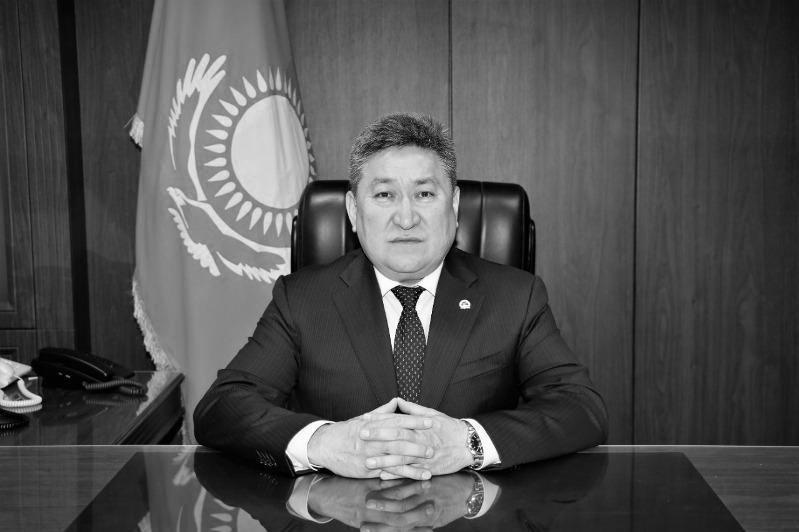 Скончался заместитель акима Жамбылской области Улан Жазылбек