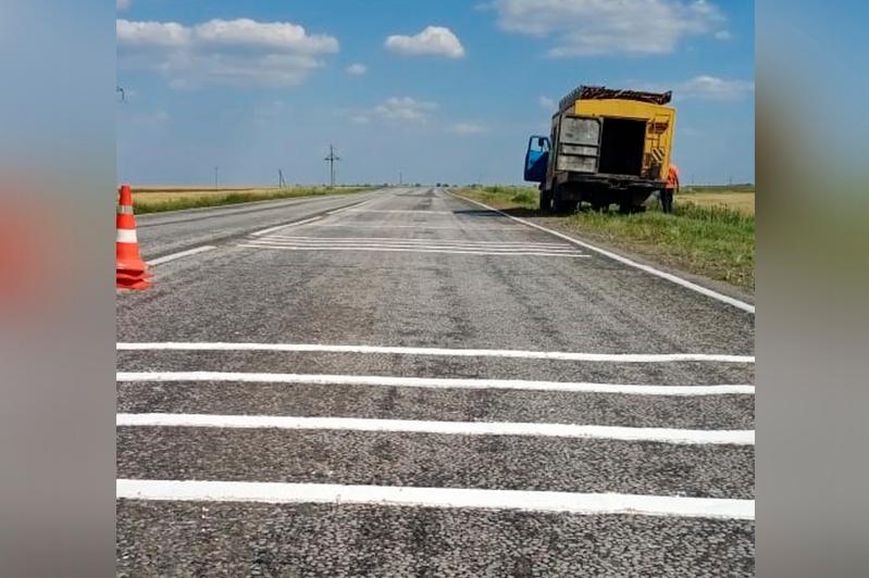 Шумовые полосы появились на костанайских автодорогах республиканского значения