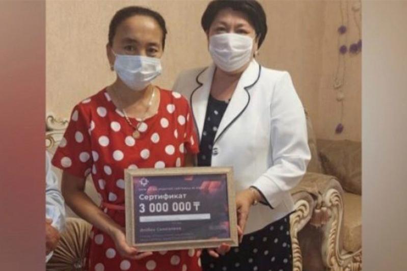 Двое жителей Атырауской области после вакцинации стали миллионерами