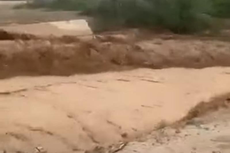 Сель сошел в ущелье Левый Талгар