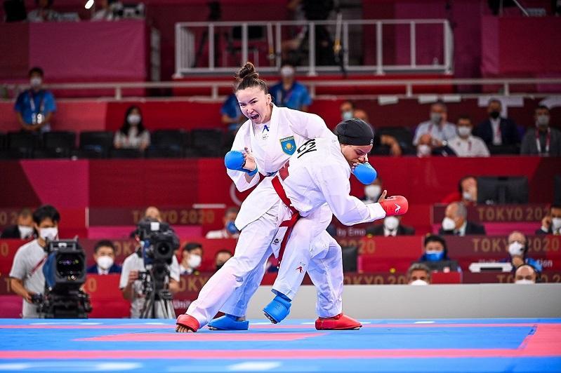 Казахстанская каратистка уступила во втором бою Олимпиады-2020