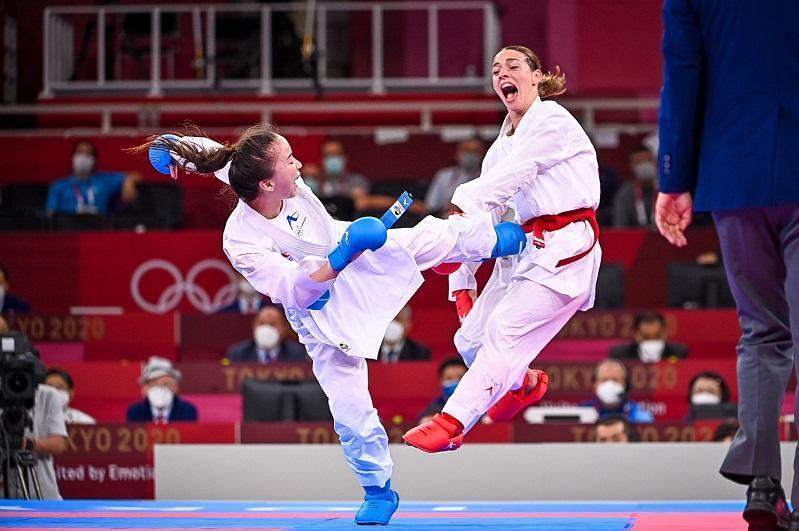 Kazakh karateka draws match at Tokyo Olympics Elimination Round
