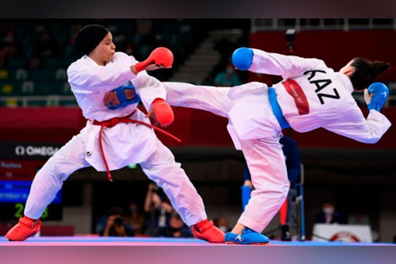 Молдир Жанбырбайне вышла в полуфинал Олимпиады-2020