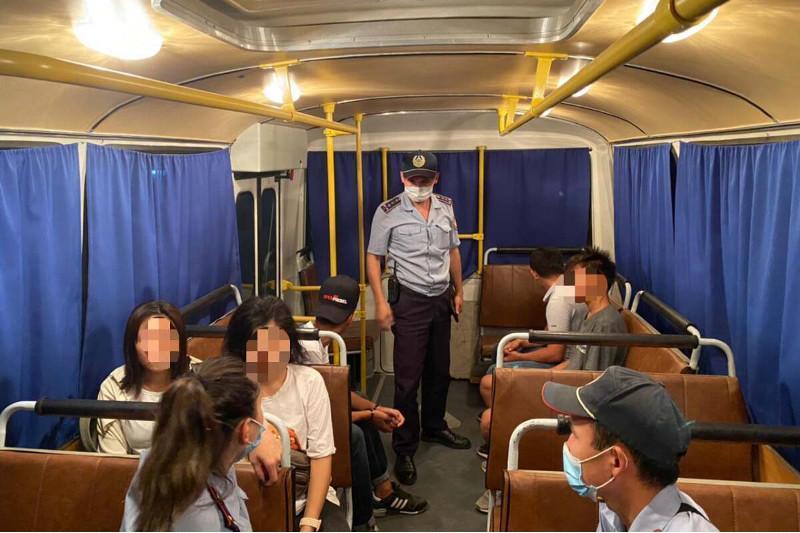 73 подростка за один день доставлены в полицию Актюбинской области
