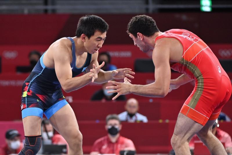 东京奥运会:哈萨克斯坦摔跤手将参加铜牌争夺战