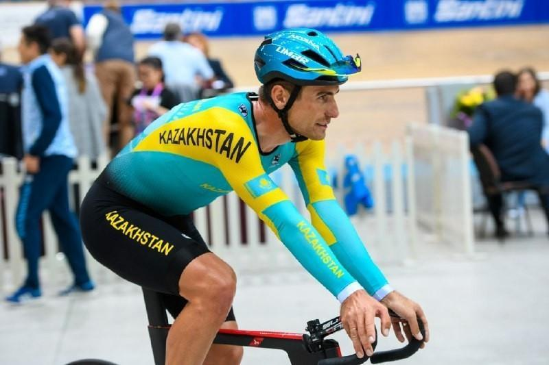 Kazakhstani cyclist 14thin Cycling Track event in Tokyo
