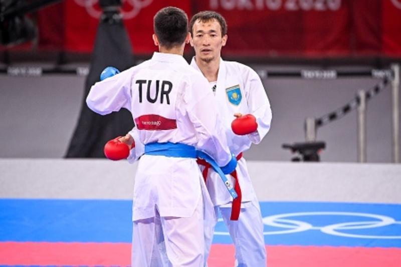 Kazakh karateka Assadilov wins bronze at Tokyo Olympics