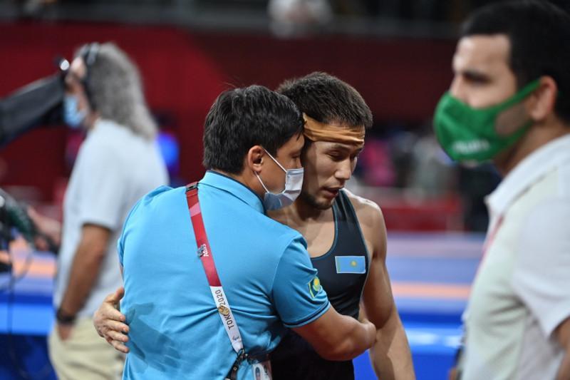 Олимпиада 2020: Казахстанский борец Нурислам Санаев завоевал «бронзу»