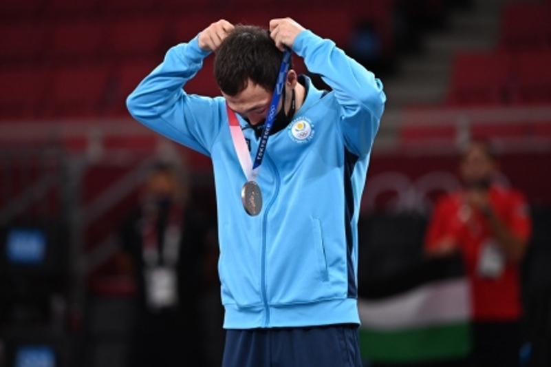 奥运会第13日战绩:哈萨克斯坦摘得三枚铜牌