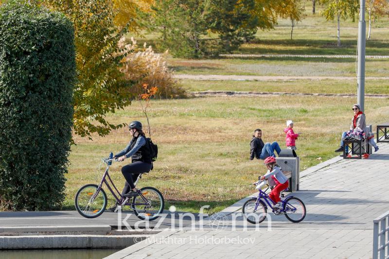 15 велосипедистов оштрафовали за езду на набережной в Атырау