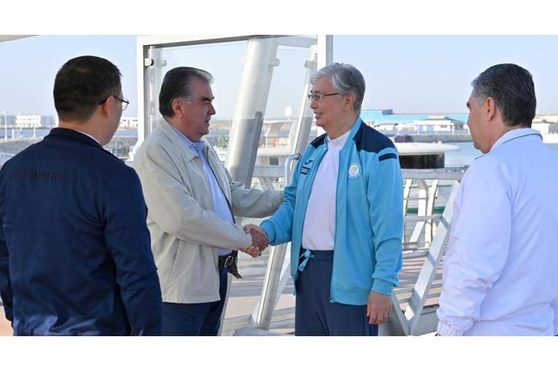 Опубликованы фото неформальной встречи глав государств Центральной Азии