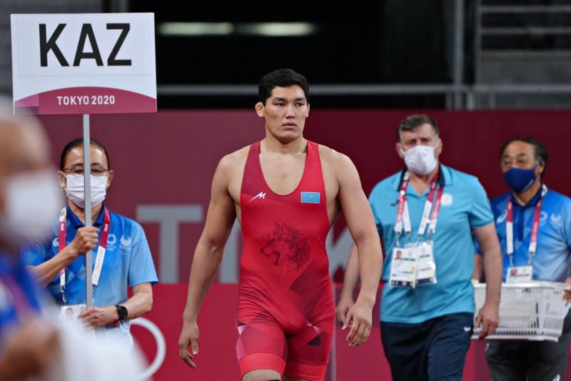 Вольная борьба в Токио-2020: Алишер Ергали уступил во втором круге