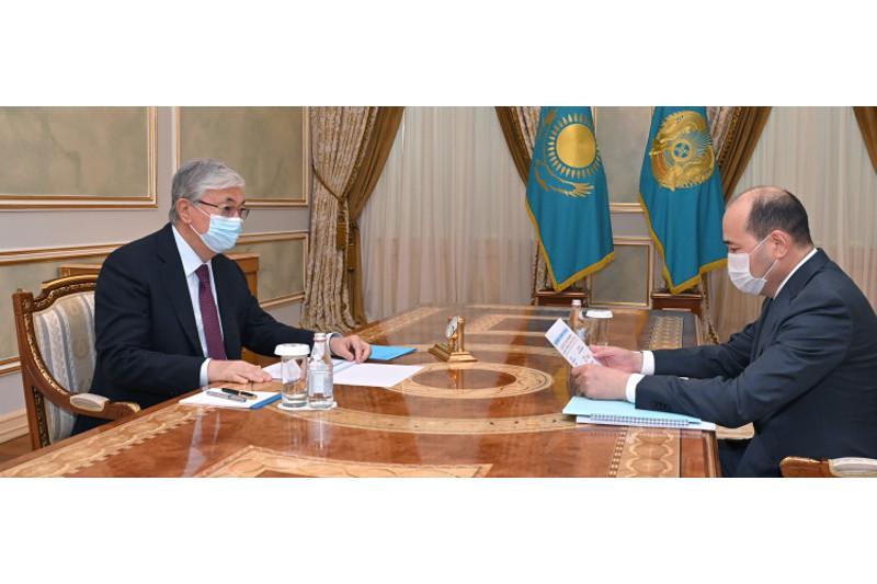Мемлекет басшысы Бас прокурор Ғизат Нұрдәулетовті қабылдады