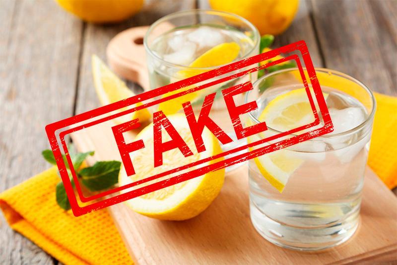 Лимон қосылған ыстық сусын коронавирусты және онкологиялық ауруларды емдейді - ФЕЙК