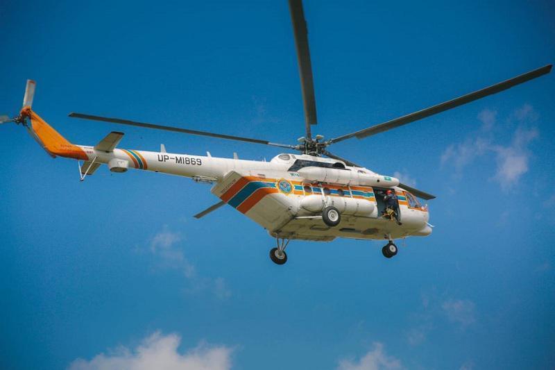 土耳其林火:哈萨克斯坦两架直升机协助灭火