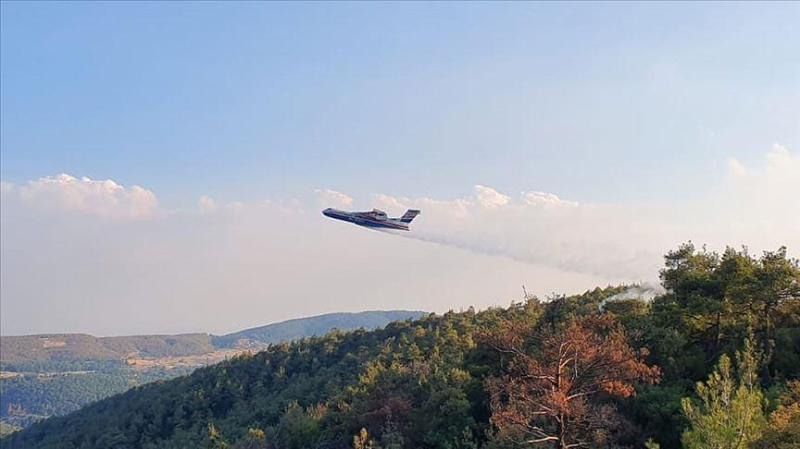 На юге Турции разбился пожарный самолет