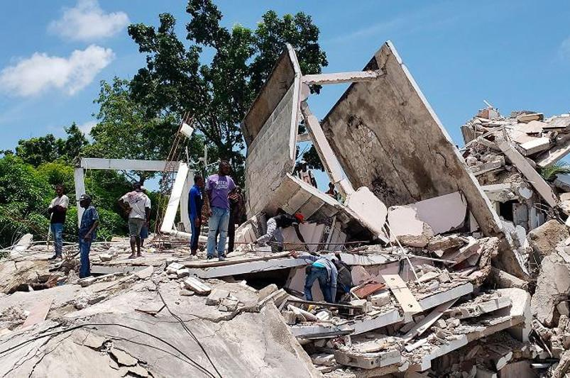 Қуатты жер сілкінісінен зардап шеккен Гаити тұрғындарына тағы да қауіп төнді