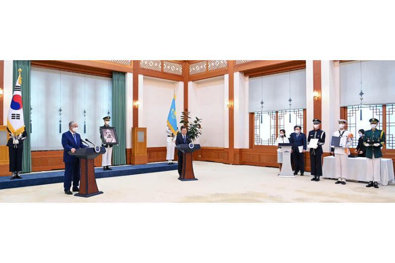 Президент сапары: Қазақстан Кореяға қандай тауарлар экспорттайды