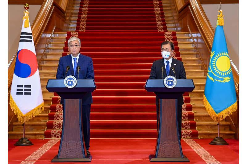 托卡耶夫总统:我们将继续加强与韩国的伙伴关系