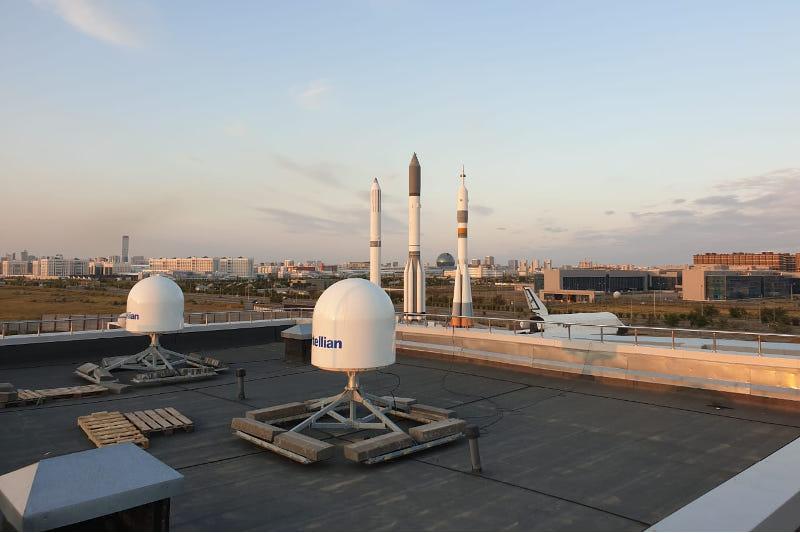 Компания OneWeb завершает монтаж оборудования в Нур-Султане