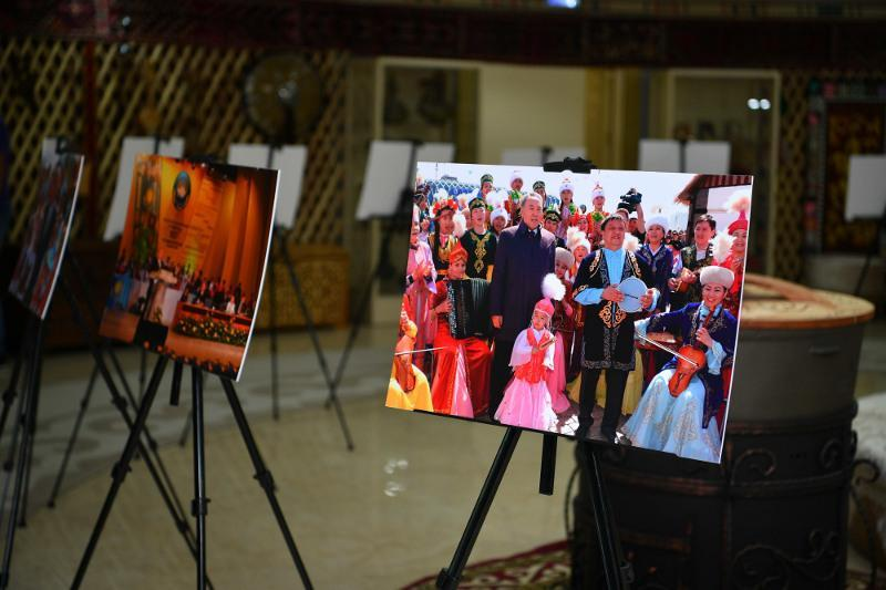 Exhibition dated to 30thanniversary of Independence unveils in Kazakh capital