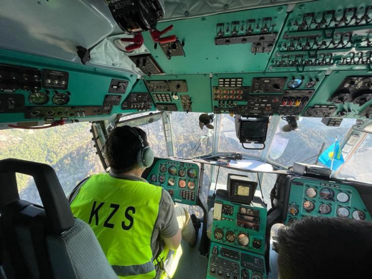 哈萨克斯坦救援队圆满完成土耳其森林火灾扑灭任务