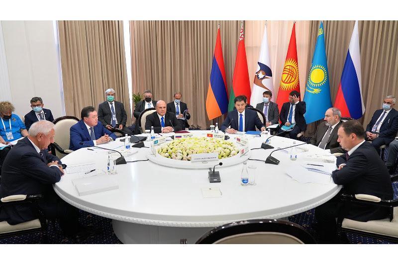 政府总理出席欧亚政府间理事会会议 提出确保欧亚经济联盟经济稳定举措