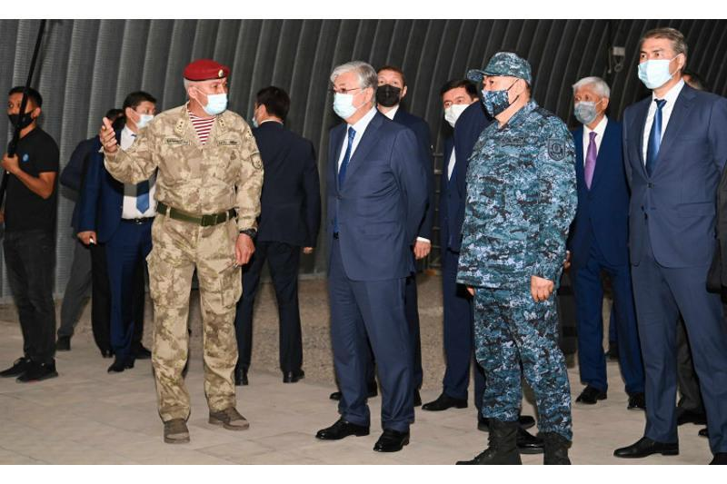 Президент Қозоғистон полициясининг тайёргарлигига баҳо берди