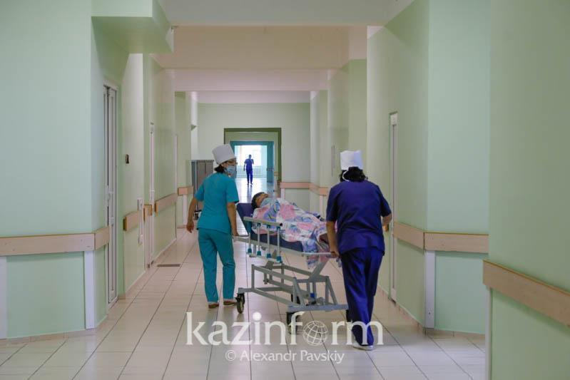 Infectious diseases beds 47% full in N Kazakhstan