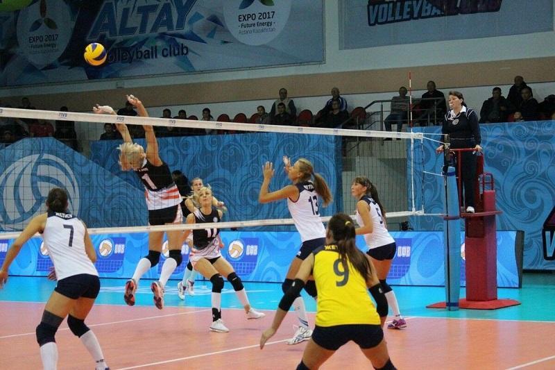 哈萨克斯坦队获得中亚女子排球锦标赛冠军