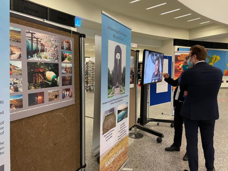 UN Office in Vienna hosts expo dated to 30thanniversary of Semipalatinsk Nuclear Test Site closure