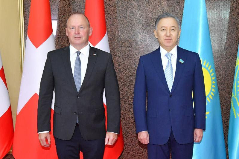 Kazakh, Swiss Parliament Speakers debate coop issues