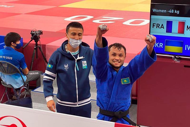 东京残奥会:哈萨克斯坦柔道选手晋级决赛