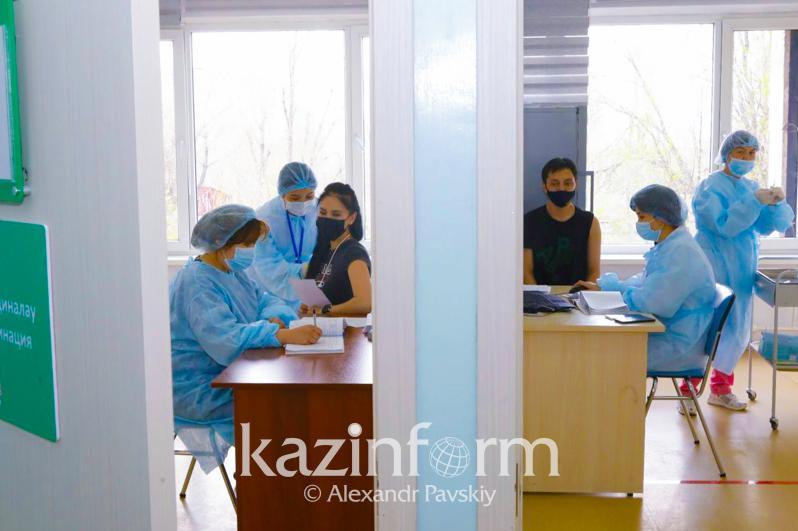 Over 7 thou Almaty citizens receive 2nd jab of COVID-19 vaccine in past day