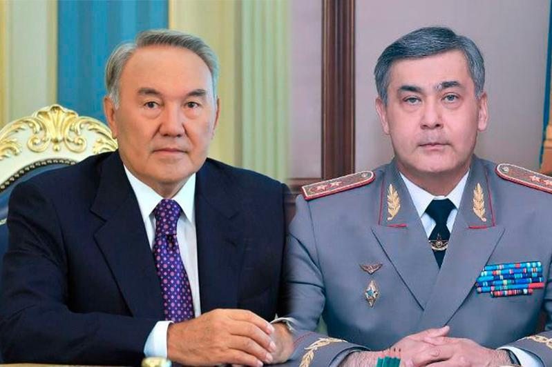 Nazarbayev holds telephone talk with Defense Minister