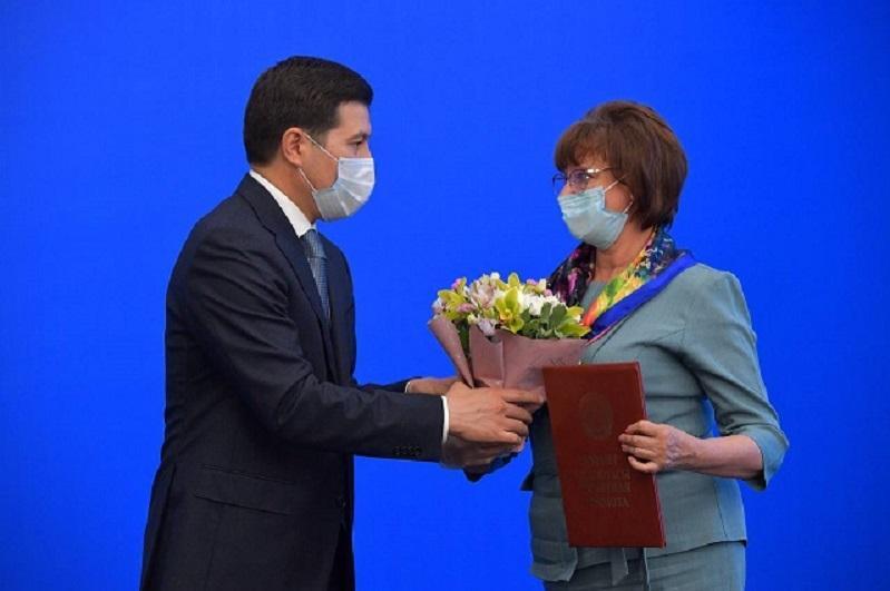 Жителей Павлодарской области наградили за вклад в развитие региона
