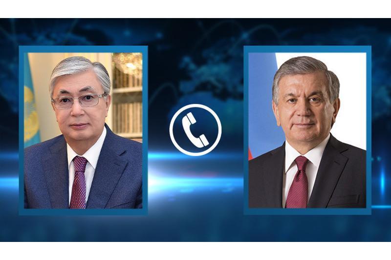 Presidents of Kazakhstan, Uzbekistan talk over phone
