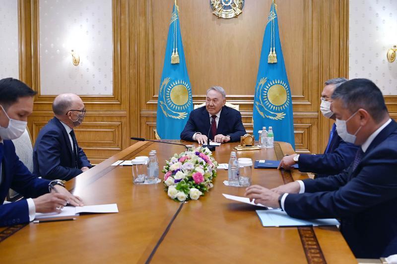 首任总统会见全面禁止核试验条约组织筹备委员会执行秘书