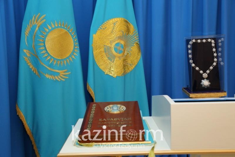 Касым-Жомарт Токаев поздравил казахстанцев с Днем Конституции