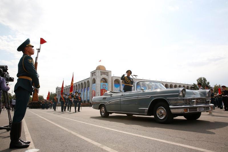 Бішкекте Қырғызстанның тәуелсіздік күніне орай шеру өтті
