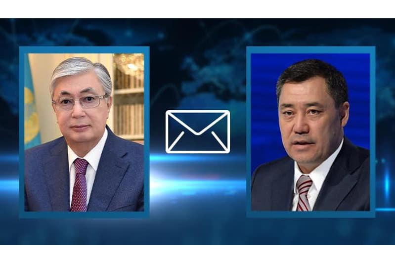 Kazakh President sends congratulatory letter to Kyrgyzstan on independence anniv