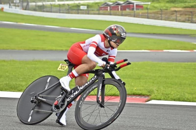 残奥会自行车赛50岁杉浦佳子摘金 成日本最年长冠军