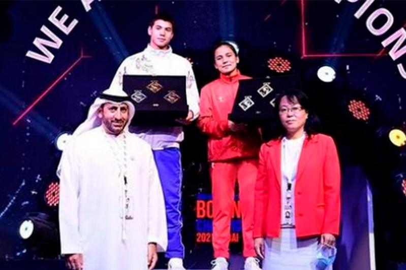 Қазақстандық боксшы жастар арасындағы Азия чемпионатында техникасы ең мықты спортшы атанды
