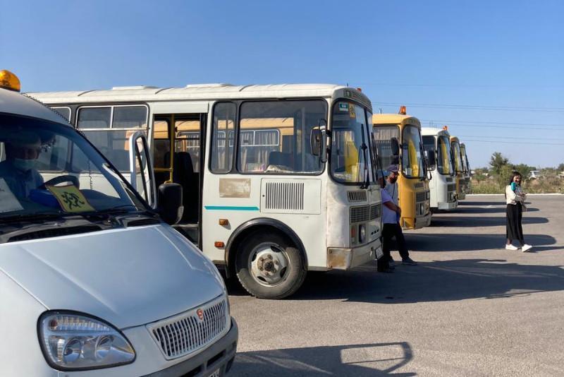Ақтөбеде мектеп автобустары жаңа оқу жылына қаншалықты дайын