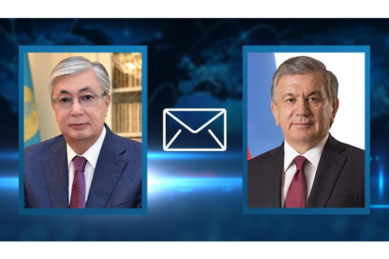 Kazakh President congratulates Uzbekistan on 30thanniversary of Independence