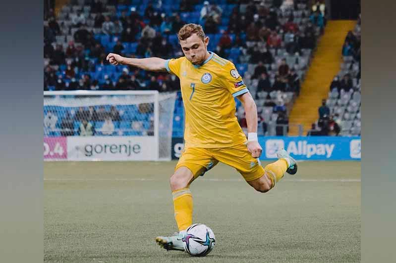 Сборная Казахстана сыграла вничью с Украиной в матче отбора на ЧМ по футболу