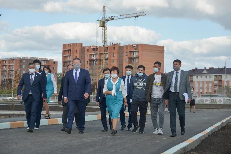 New 900-seat school opens its doors in N Kazakhstan