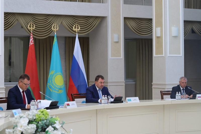Emergency ministries of Kazakhstan, Belarus and Russia debate coop issues