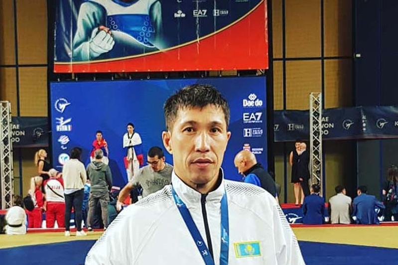 东京残奥会:哈萨克斯坦跆拳道选手晋级半决赛
