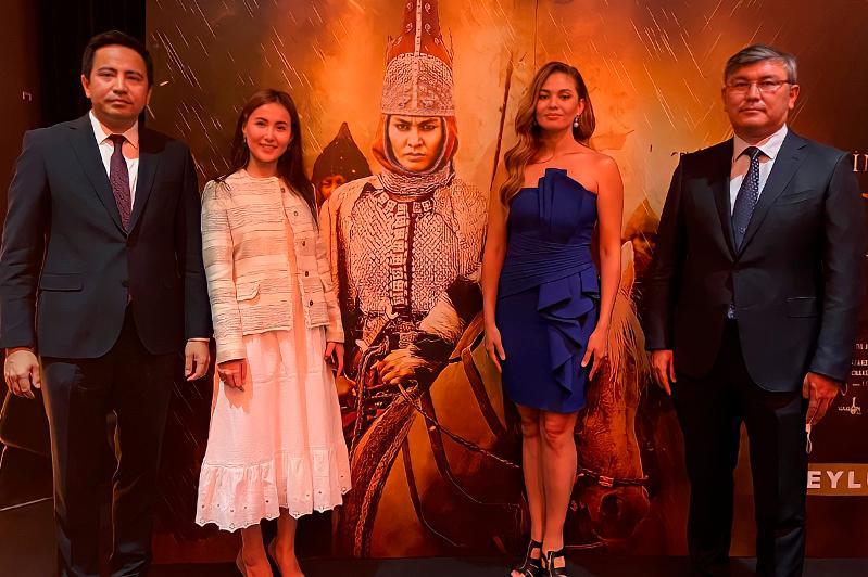Казахстанский фильм «Томирис» выходит в прокат в Турции